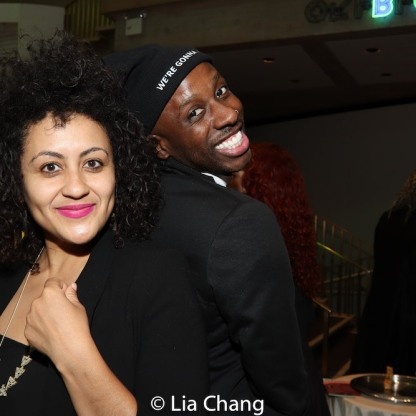 Lileana Blain-Cruz and Raja Feather Kelly. Photo by Lia Chang