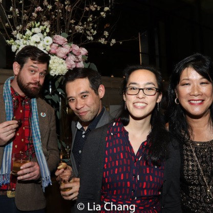 Matt MacNelly, Joseph Ngo, Lauren Yee and Nadine Wong. Photo by Lia Chang