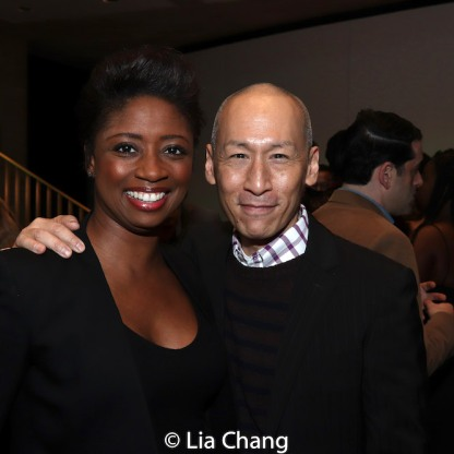Montego Glover and Francis Jue. Photo by Lia Chang