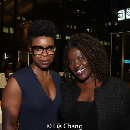 Roslyn Ruff and Heather Alicia Simms. Photo by Lia Chang