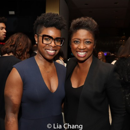 Roslyn Ruff and Montego Glover. Photo by Lia Chang