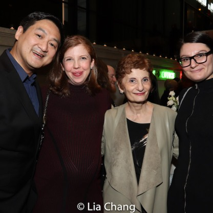 Timothy Huang, Laura Brandel, Virginia P. Louloudes. Photo by Lia Chang