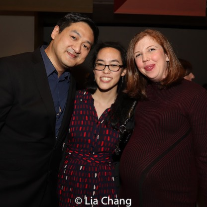 Timothy Huang, Lauren Yee and Laura Brandel. Photo by Lia Chang
