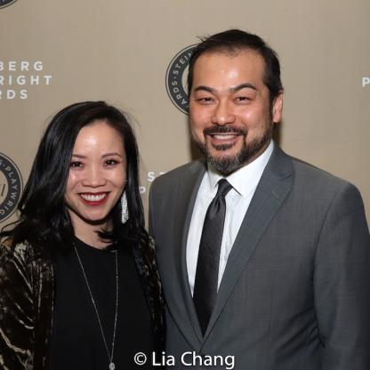 Tina Chilip and David Shih. Photo by Lia Chang