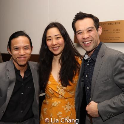 Tony Aidan Vo, Cindy Im and Joseph Ngo. Photo by Lia Chang