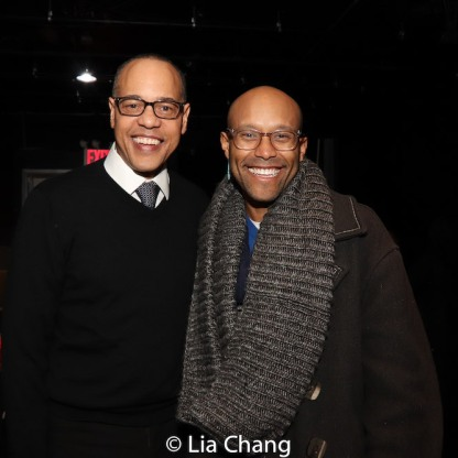 Tyrone Mitchell Henderson and Jonathan McCrory. Photo by Lia Chang