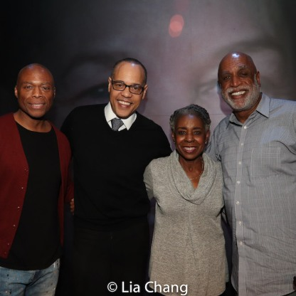 Erich McMillan-McCall, Tyrone Mitchell Henderson, Marjorie L. Johnson and Ken Hanson. Photo by Lia Chang