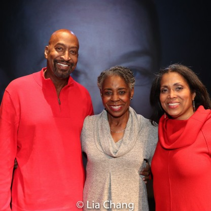 Preston Smith, Marjorie L. Johnson, Bernadette Drayton. Photo by Lia Chang