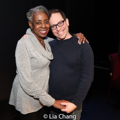 Marjorie L. Johnson and Garth Kravits. Photo by Lia Chang