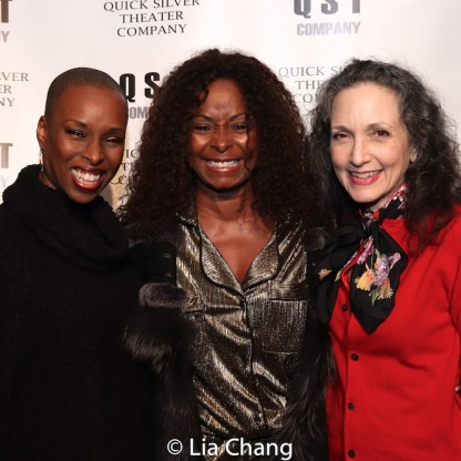 Brenda Braxton, Crystal Fox and Bebe Neuwirth. Photo by Lia Chang