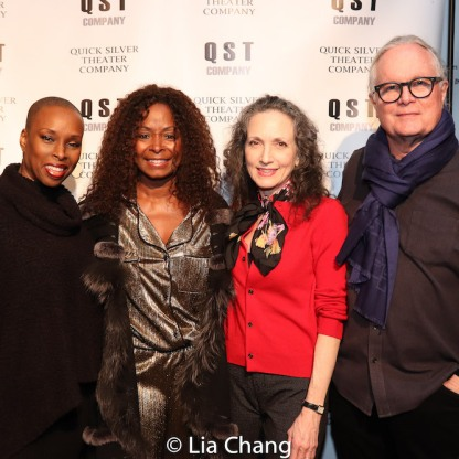 Brenda Braxton, Crystal Fox, Bebe Neuwirth, Chris Calkins. Photo by Lia Chang