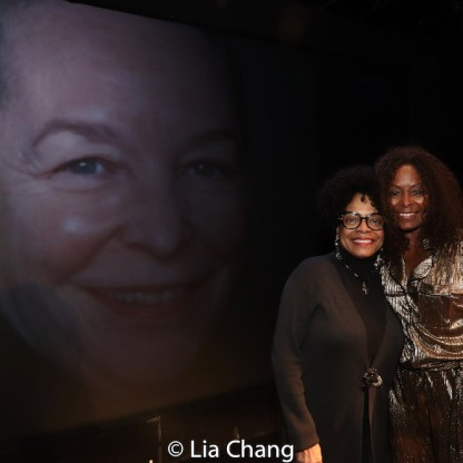 Denise Burse and Crystal Fox. Photo by Lia Chang