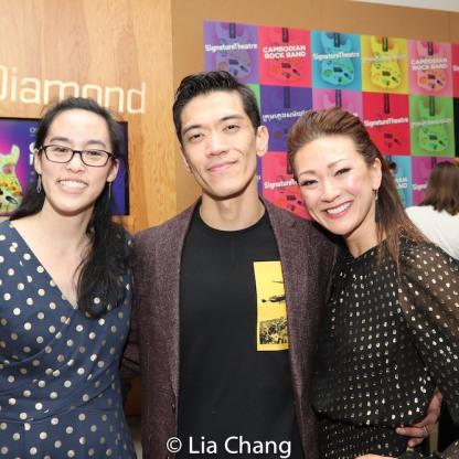 Lauren Yee, Moses Villarama, Amy Kim Waschke. Photo by Lia Chang