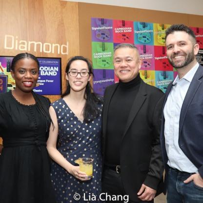 Antoinette Nwandu, Lauren Yee, Chay Yew, Graham Schmidt. Photo by Lia Chang