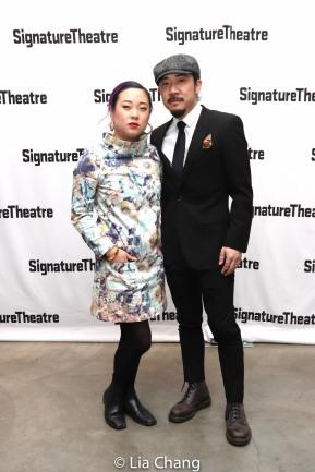 Priscilla Liang, Abraham Kim. Photo by Lia Chang