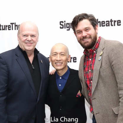 Randy Adams, Francis Jue and Matt MacNelly. Photo by Lia Chang