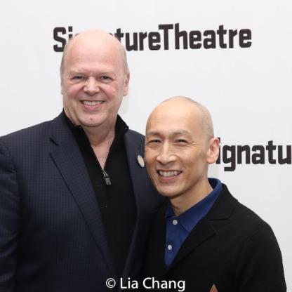 Randy Adams and Francis Jue. Photo by Lia Chang