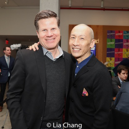 Bill Rauch and Francis Jue. Photo by Lia Chang