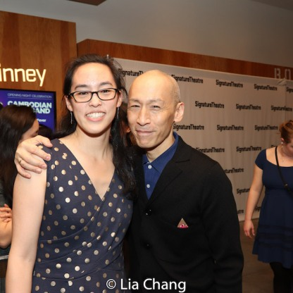 Lauren Yee and Francis Jue. Photo by Lia Chang
