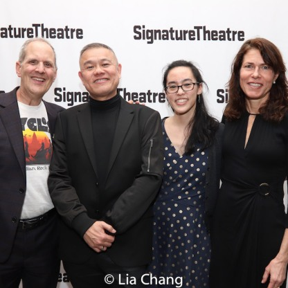 Harold Wolpert, Chay Yew, Lauren Yee and Paige Evans. Photo by Lia Chang