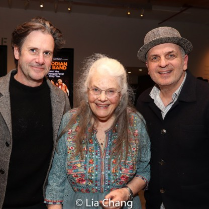 Josh Hamilton, Lois Smith and a guest. Photo by Lia Chang