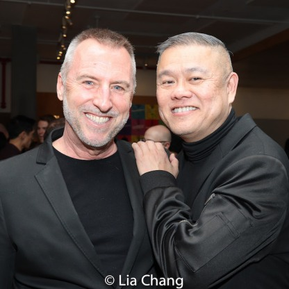 Randall Friesen and Chay Yew. Photo by Lia Chang