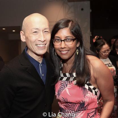 Francis Jue and Natasha Sinha. Photo by Lia Chang