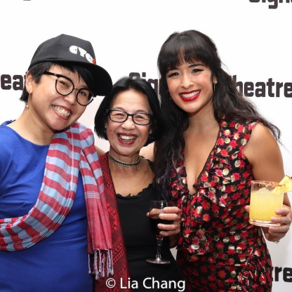 Sokunthary Svay, Mrs. Reed and Courtney Reed. Photo by Lia Chang