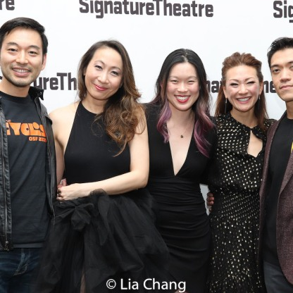 Daisuke Tsuji, Jane Lui, Jeena Yi, Amy Kim Waschke and Moses Villarama. Photo by Lia Chang