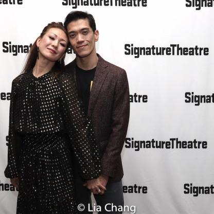 Amy Kim Waschke and Moses Villarama. Photo by Lia Chang