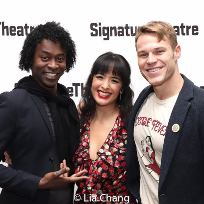 Stevie Cutts, Courtney Reed and Brock Harris. Photo by Lia Chang