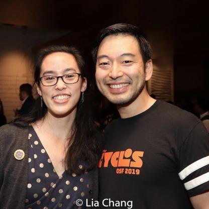 Lauren Yee and Daisuke Tsuji. Photo by Lia Chang
