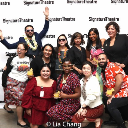 The Signature Theatre Team. Photo by Lia Chang