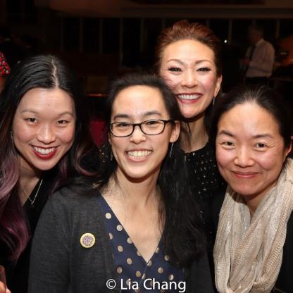 Jeena Yi, Lauren Yee, Amy Kim Waschke. Desdemona Chiang. Photo by Lia Chang