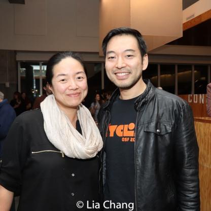 Desdemona and Daisuke Tsuji. Photo by Lia Chang