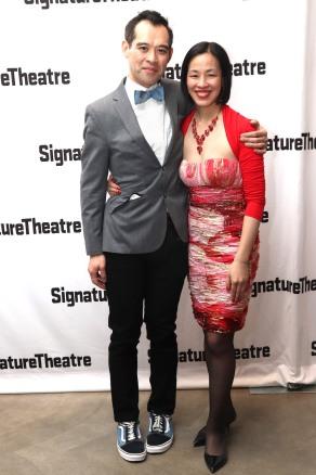 Joe Ngo and Lia Chang. Photo by Garth Kravits