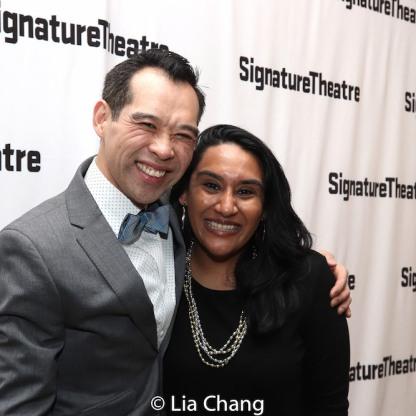 Joe Ngo and Maya Shah. Photo by Lia Chang