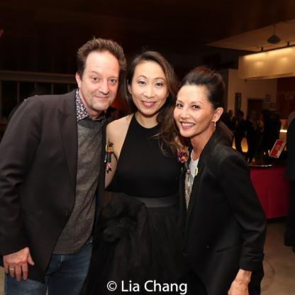Daniel Blinkoff, Jane Lui and Tamlyn Tomita. Photo by Lia Chang