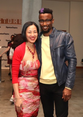 Lia Chang and Sheldon Best. Photo by Garth Kravits