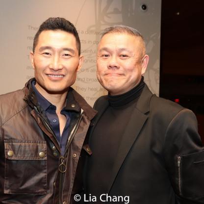 Daniel Dae Kim, Chay Yew. Photo by Lia Chang