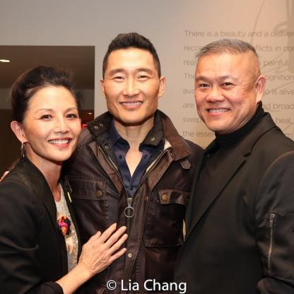 Tamlyn Tomita, Daniel Dae Kim and Chay Yew. Photo by Lia Chang