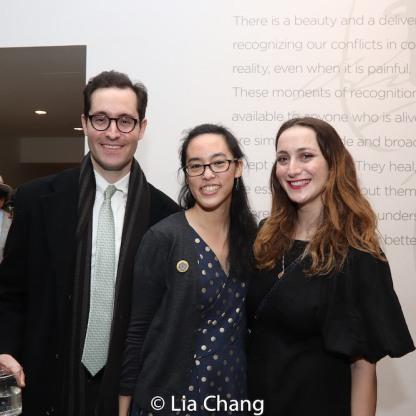 Zachery Zwillinger and Lauren Yee. Photo by Lia Chang