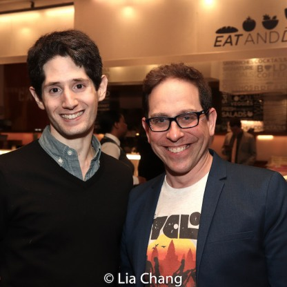 Noam Shapiro and Garth Kravits. Photo by Lia Chang