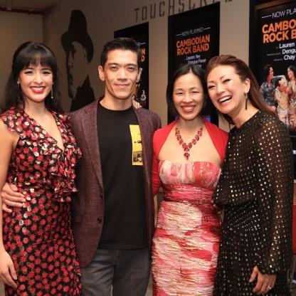 Courtney Reed, Moses Villarama, Lia Chang and Amy Kim Waschke. Photo by Garth Kravits