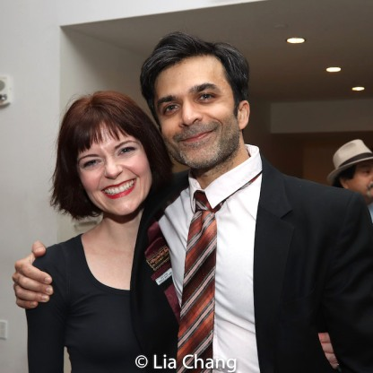 Stephanie Thompson and Nick Choksi. Photo by Lia Chang