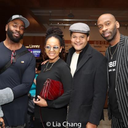 Stephen Conrad Moore, Crystal Dickinson, Brandon J. Dirden and Steve H. Broadnax III. Photo by Lia Chang