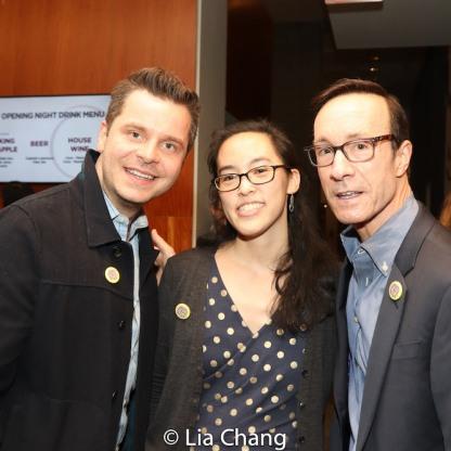 Nick May, Lauren Yee, Keith Degi. Photo by Lia Chang