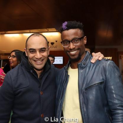 Saheem Ali and Sheldon Best. Photo by Lia Chang