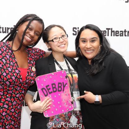 Brittani Samuel, Debby Lau and Maya Shah. Photo by Lia Chang