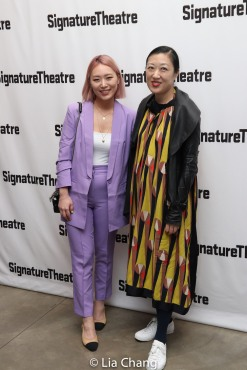 Helen Park and Young Jean Lee. Photo by Lia Chang